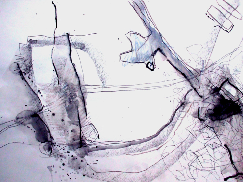 Aquarell graue-serie-nr-07