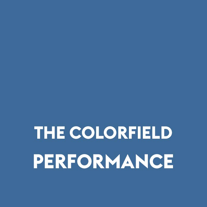 the colorfield text