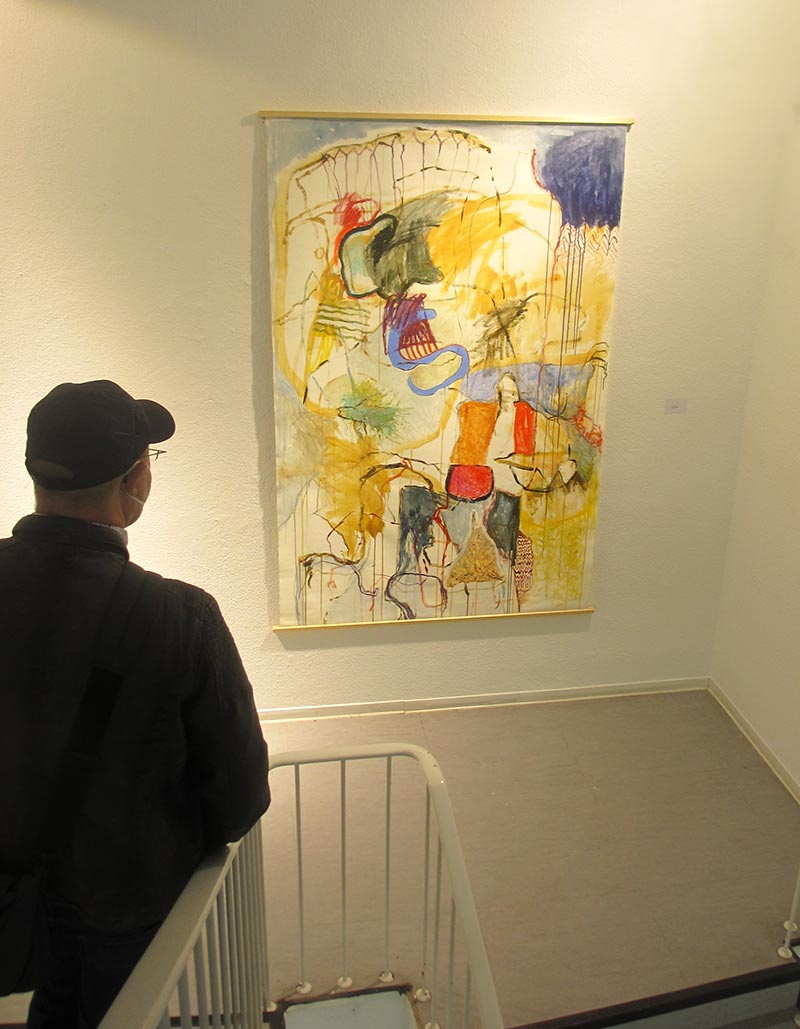 Bild in der Ausstellung